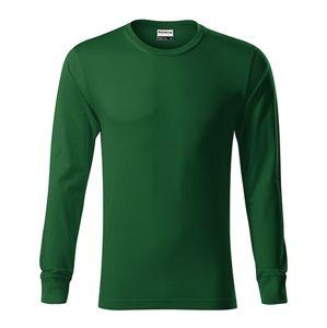 Adler Tričko s dlhým rukávom Resist LS - Lahvově zelená   XXXL
