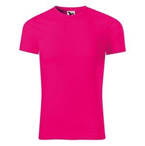 Adler Tričko Star - Neonově růžová | XL