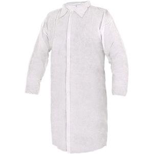 Canis Jednorazový biely plášť CXS RICK - XL