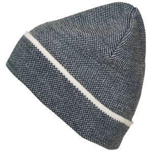 Myrtle Beach Elegantná pletená čiapka MB7117 - Tmavě modrá / bílá