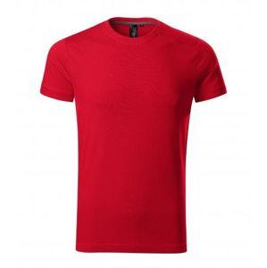 Adler Pánske tričko Action - Jasně červená | S