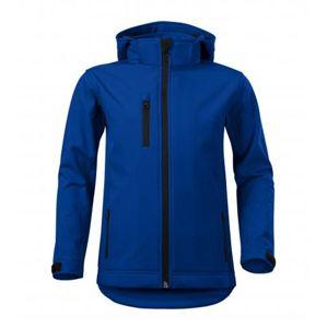 Adler Detská softshellová bunda Performance - Královská modrá | 122 cm (6 let)