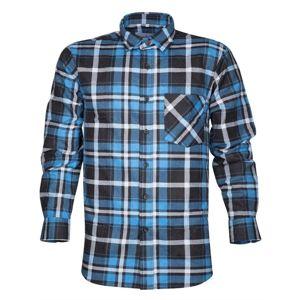Ardon Pracovná flanelová košeľa Jonah - Modrá   41-42