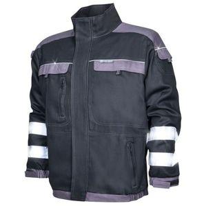 Ardon Reflexná pracovná blúza COOL TREND - Černá / šedá | XL