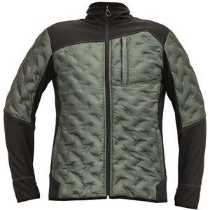 Cerva Pánska softshellová bunda NEURUM - Tmavě olivová | XL