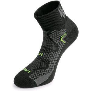 Canis Funkčné ponožky SOFT - Černá / žlutá | 42