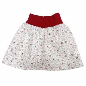 Chráněné dílny AVE Strážnice Detská sukňa - Bílá / červená   98 cm