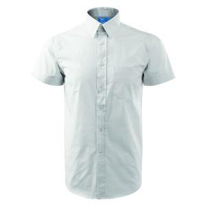 Adler Pánska košeľa s krátkym rukávom Chic - Bílá   S