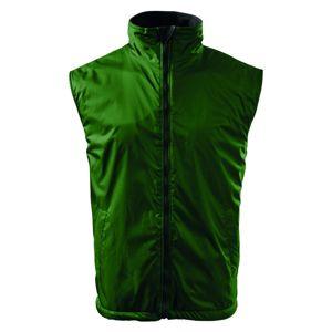 Adler Pánska vesta Body Warmer - Lahvově zelená | L