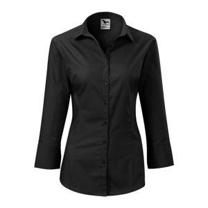 Adler Dámska košeľa s trojštvrťovým rukávom Style - Černá   L