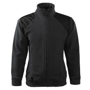 Adler Fleecová mikina Jacket Hi-Q - Ebony gray | S