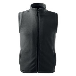Adler Fleecová vesta Next - Ocelově šedá   S