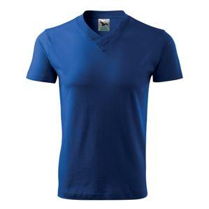 Adler Tričko V-neck - Královská modrá   XL