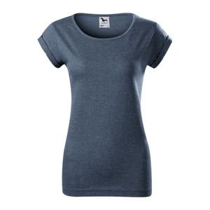 Adler Dámske tričko Fusion - Tmavý denim melír | M