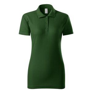 Adler Pique dámska polokošeľa Joy - Lahvově zelená | XL
